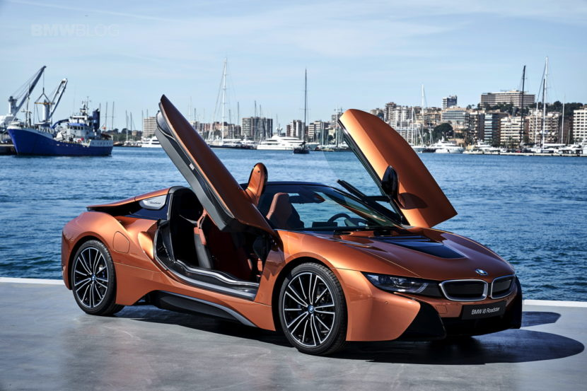 2018 BMW i8 Roadster test drive 129 830x553