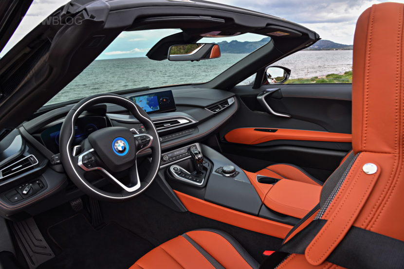 2018 BMW i8 Roadster test drive 164 830x553