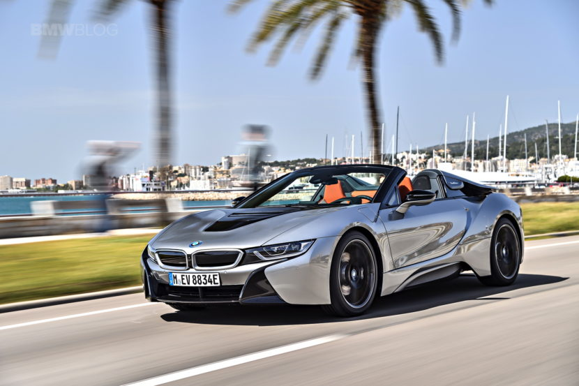 2018 BMW i8 Roadster test drive 23 830x553