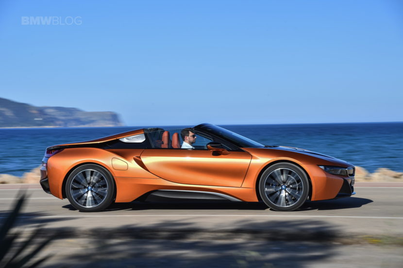 2018 BMW i8 Roadster test drive 63 830x553