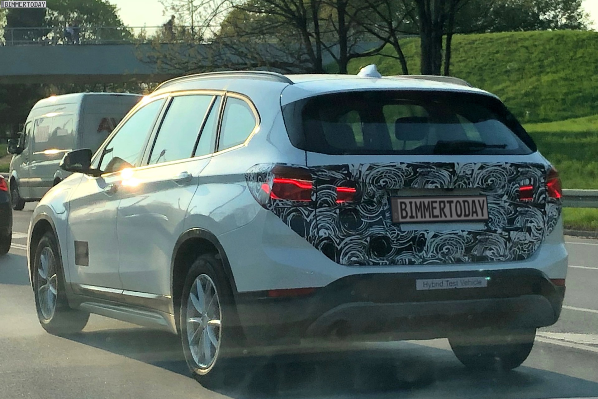 spied: bmw x1 xdrive 25e -- plug-in hybrid variant on its way