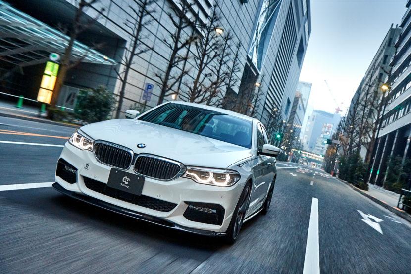 3D Design BMW 540i 830x553