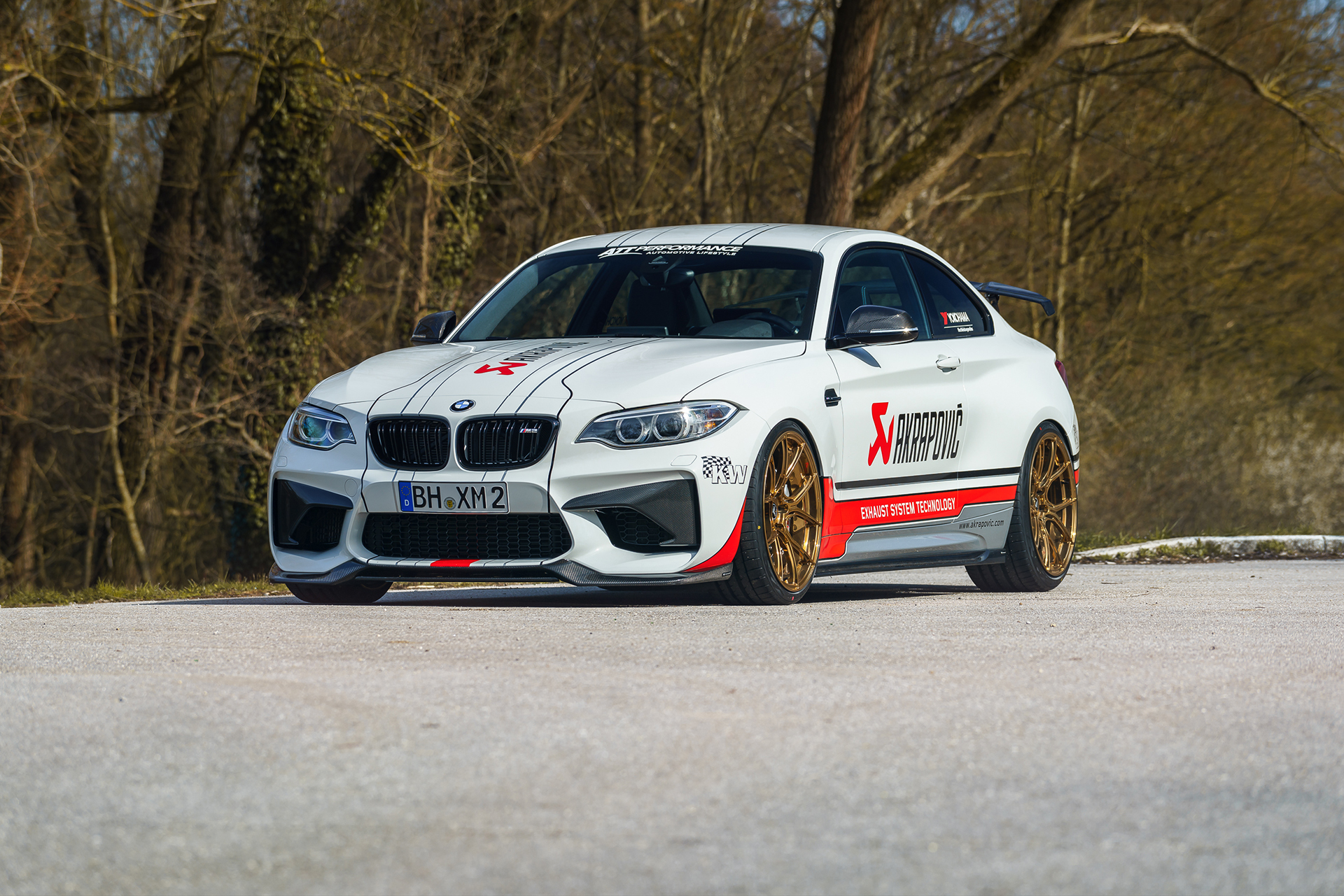 Alpine White BMW M2 By ATT Performance Image 1