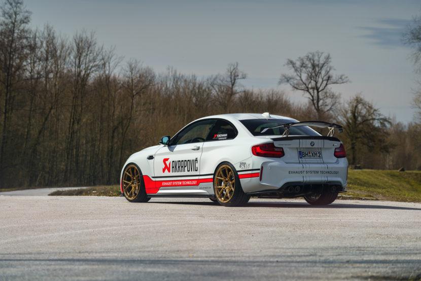 Alpine White BMW M2 By ATT Performance Image 2 830x554