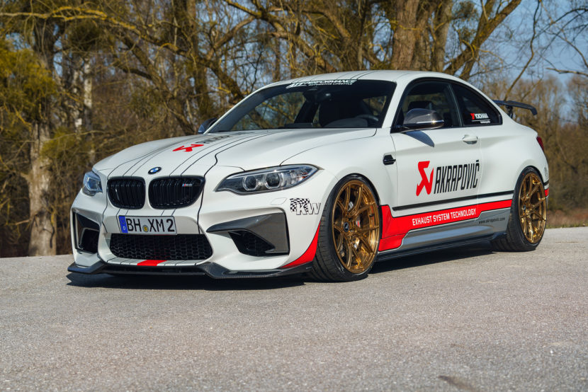alpine white bmw m2 gets the full aftermarket treatment. Black Bedroom Furniture Sets. Home Design Ideas