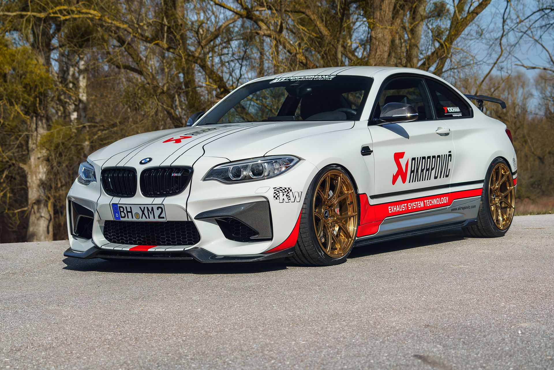Alpine White Bmw M2 Gets The Full Aftermarket Treatment