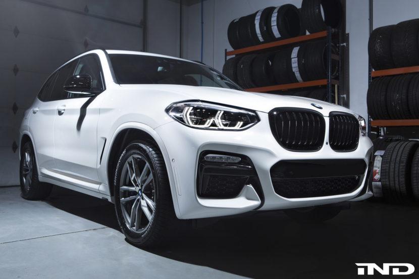 Alpine White BMW X3 M40i Image 1 830x553