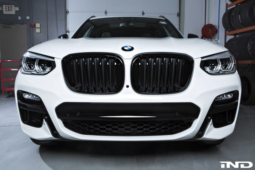 Alpine White BMW X3 M40i Image 4 830x553