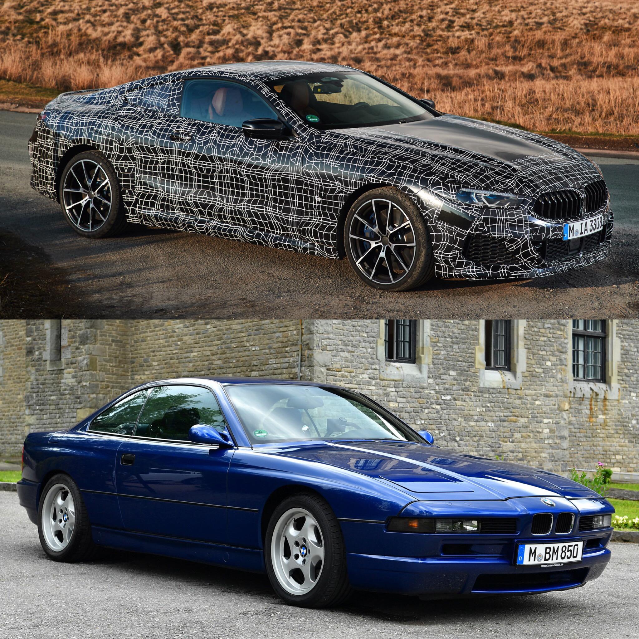 Photo Comparison: G15 BMW 8 Series Vs E31 BMW 8 Series