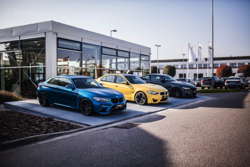BMW M Showroom Is Opened in Brno 04 830x553