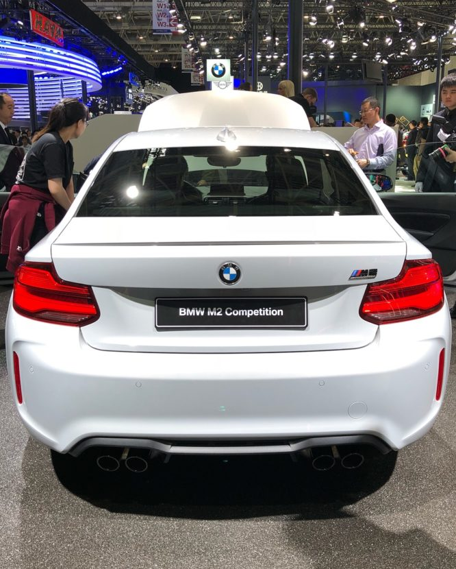 First Live Photos Of The New BMW M2 Competition