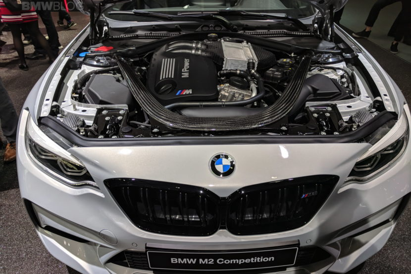 BMW M2 Competition engine photos 15 830x553