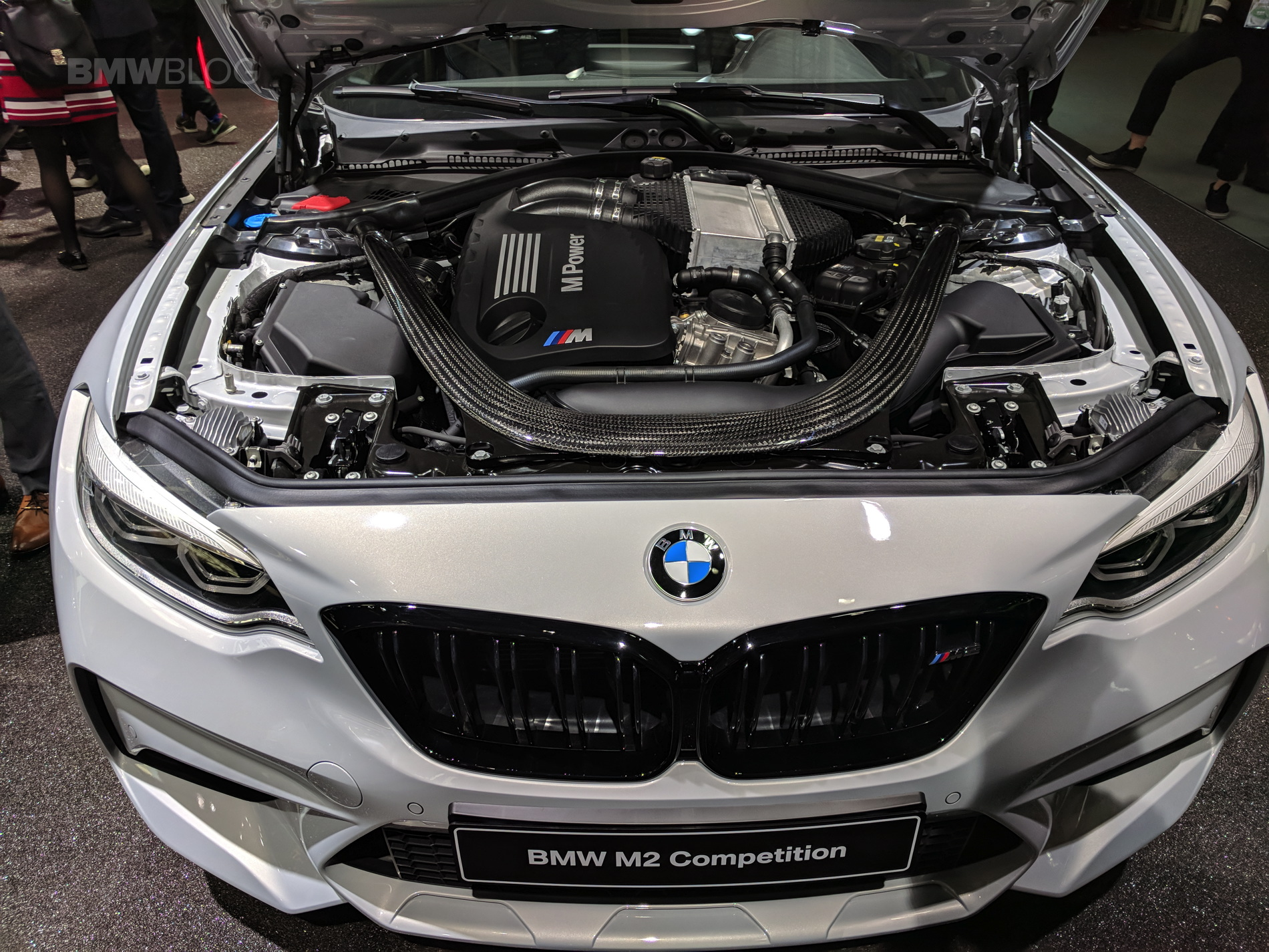 BMW M2 Competition engine photos 15