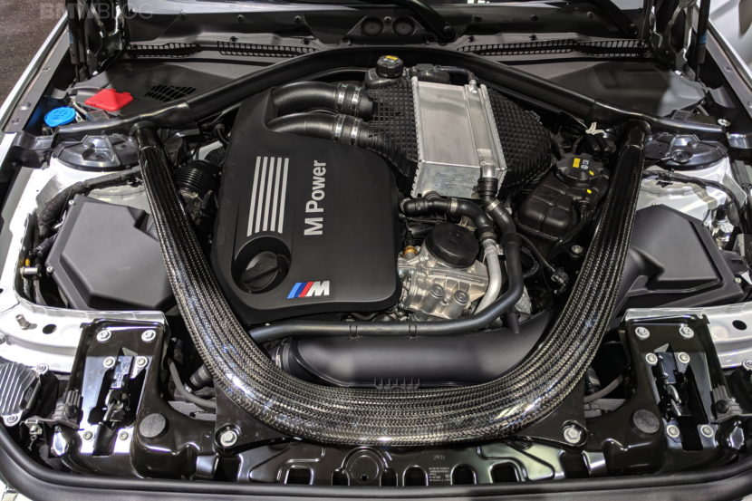 BMW M2 Competition engine photos 16 830x553