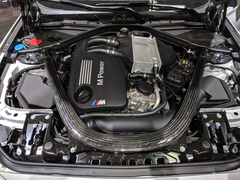 BMW M2 Competition engine photos 16 830x623
