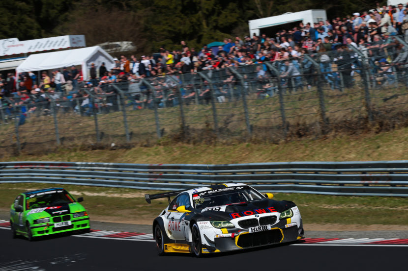 BMW M6 GT3 Nurburgring win 830x553