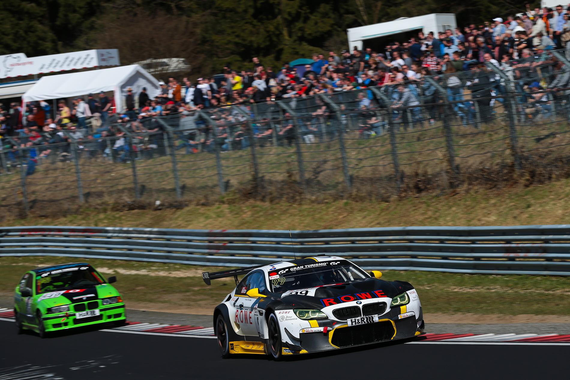 BMW M6 GT3 Nurburgring win