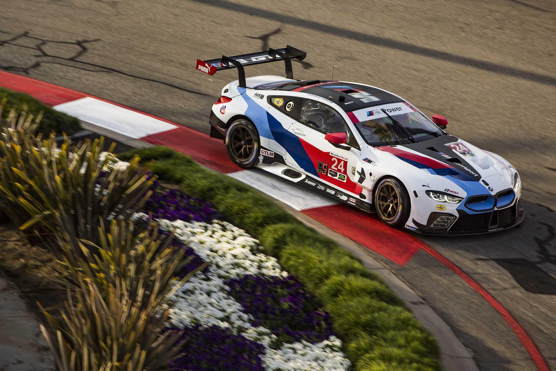 BMW M8 GTE Long Beach