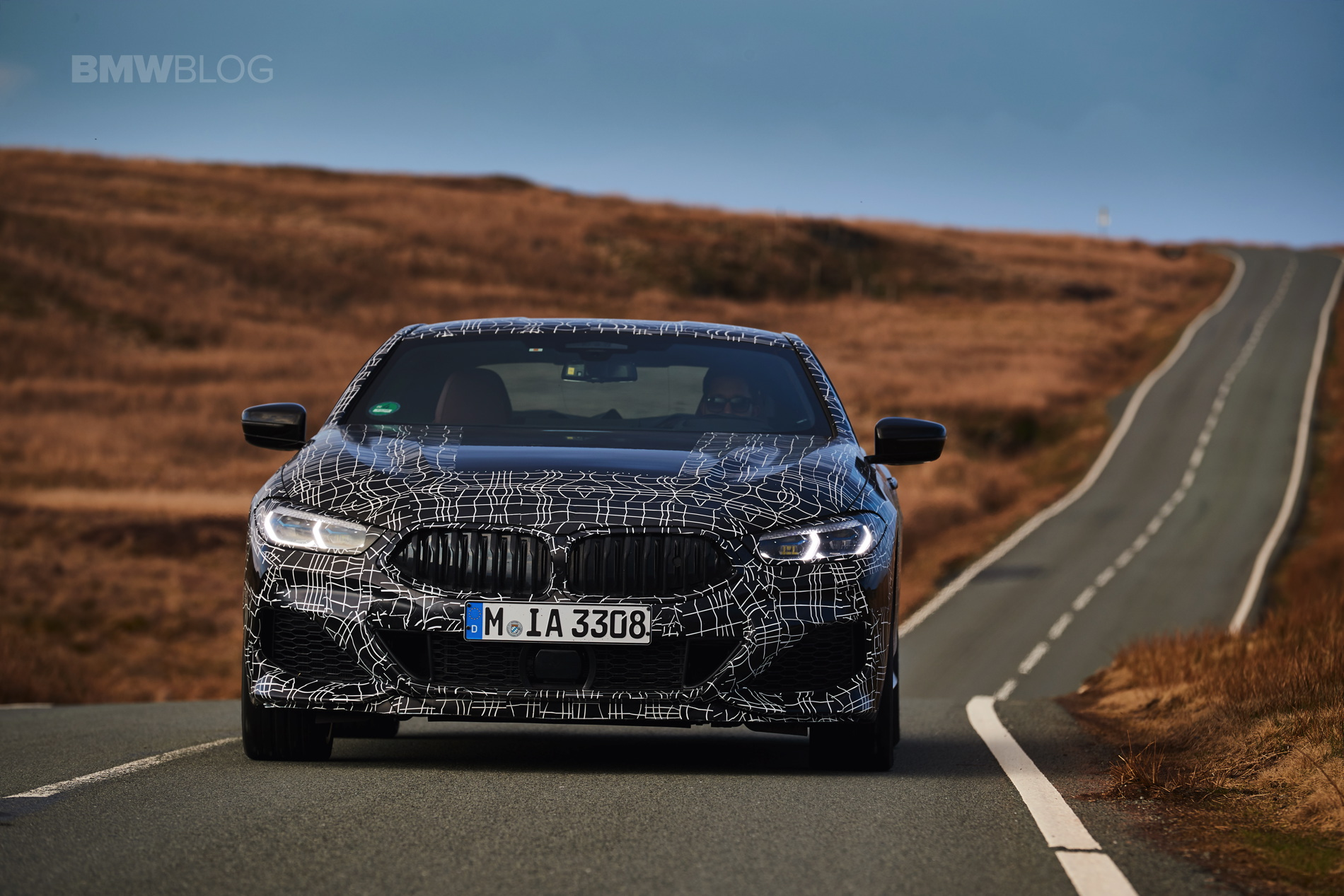 BMW M850i pre production test 25