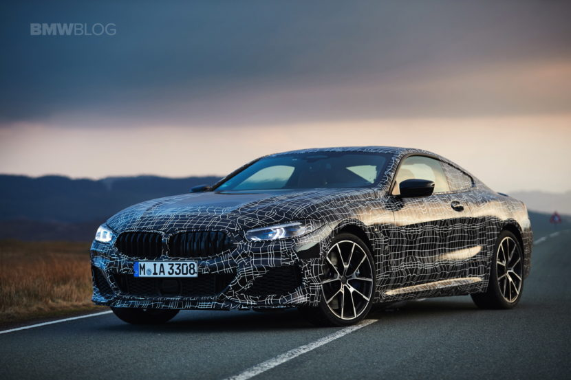 BMW M850i pre production test 26 830x553