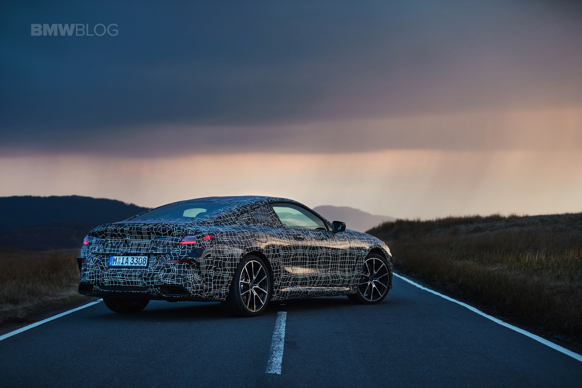 BMW M850i pre production test 27