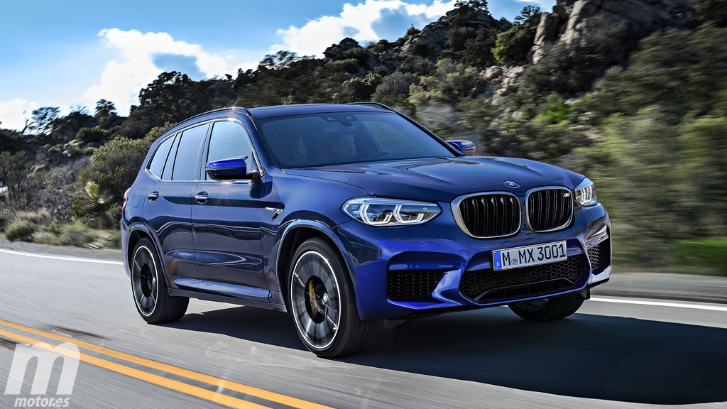 BMW X3M rendered 1
