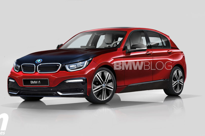 Report Future Bmw I1 An Electric Compact Based On The New 1 Series