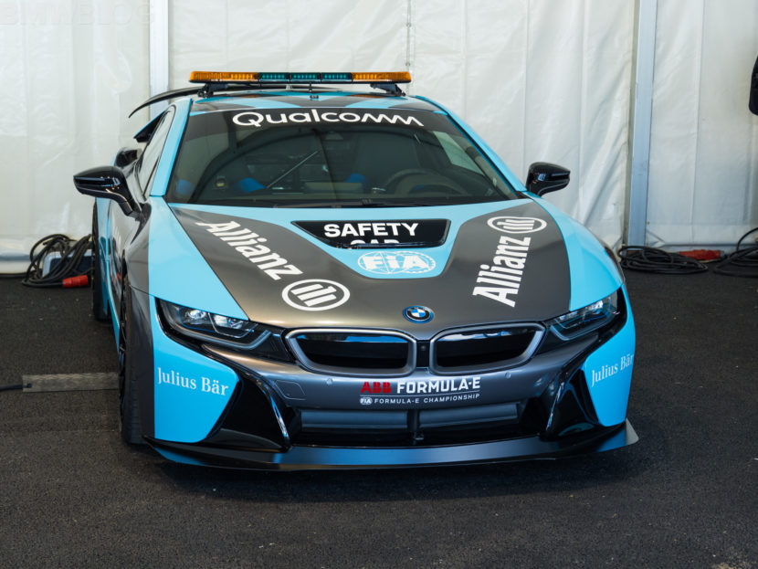 BMW i8 Coupe Safety Car Rome Formula E 14 830x623
