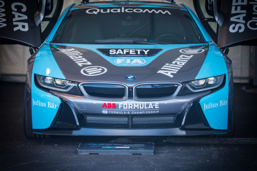 BMW i8 Coupe Safety Car Rome Formula E 17 830x553