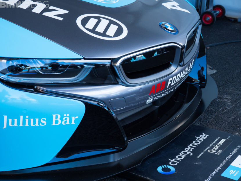 BMW i8 Coupe Safety Car Rome Formula E 2 830x623