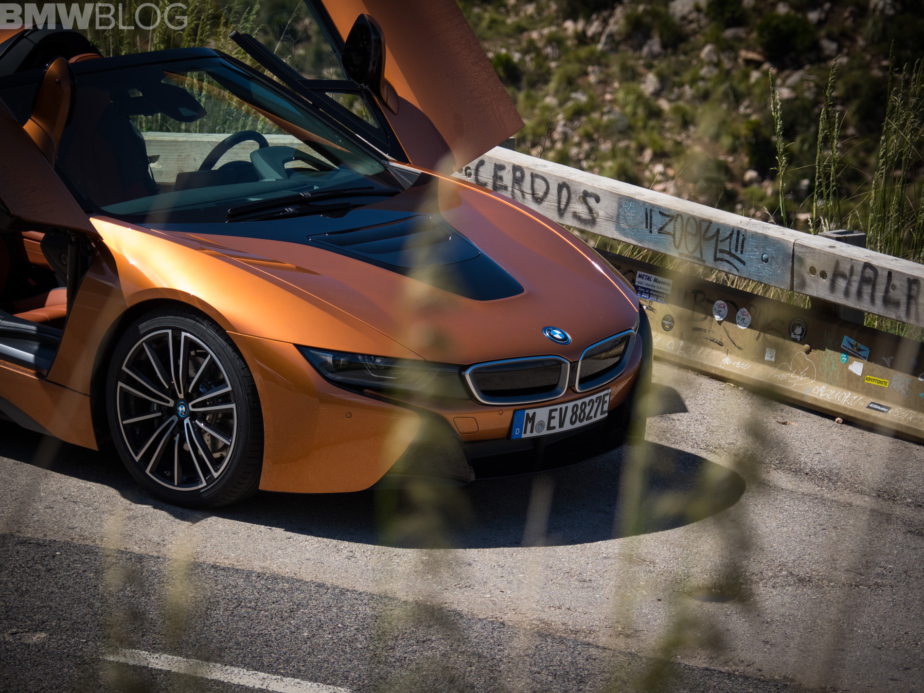 Bmw I8 Roadster Shines Under The Mallorca Sun