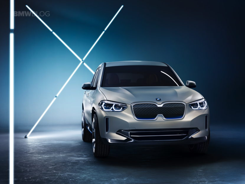 BMW iX3 photos 19 830x622