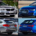 Bild Vergleich BMW 5er Touring G31 Audi A6 Avant C8 2018 01 120x120