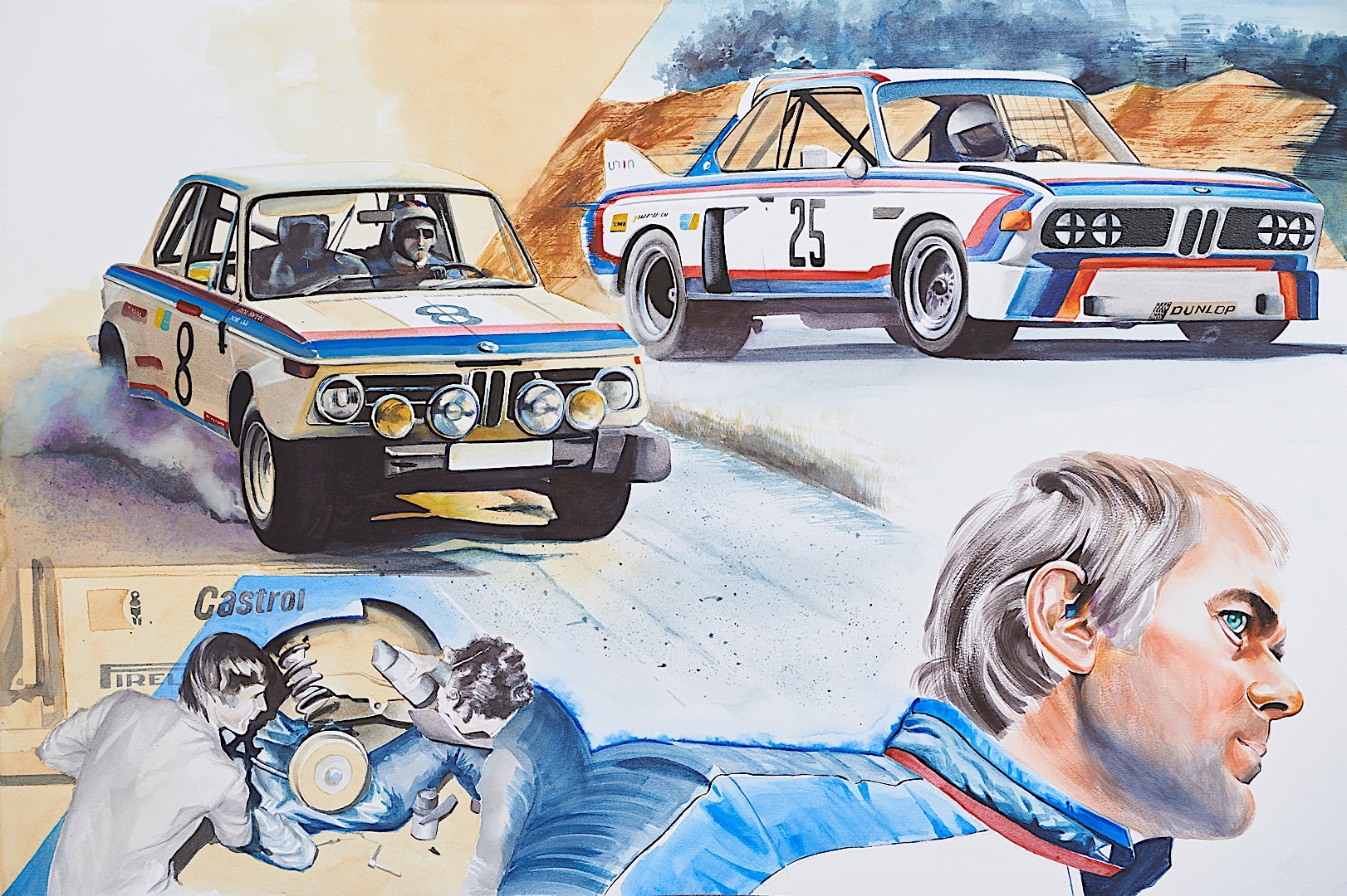 The True Story Behind the Meaning of the BMW ///M Colors