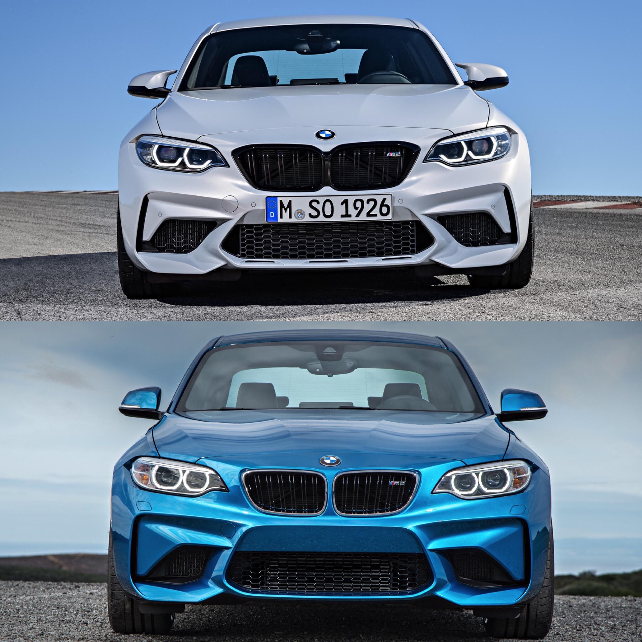 Bmw Z 8 For Sale: Photo Comparison: BMW M2 Competition Vs BMW M2