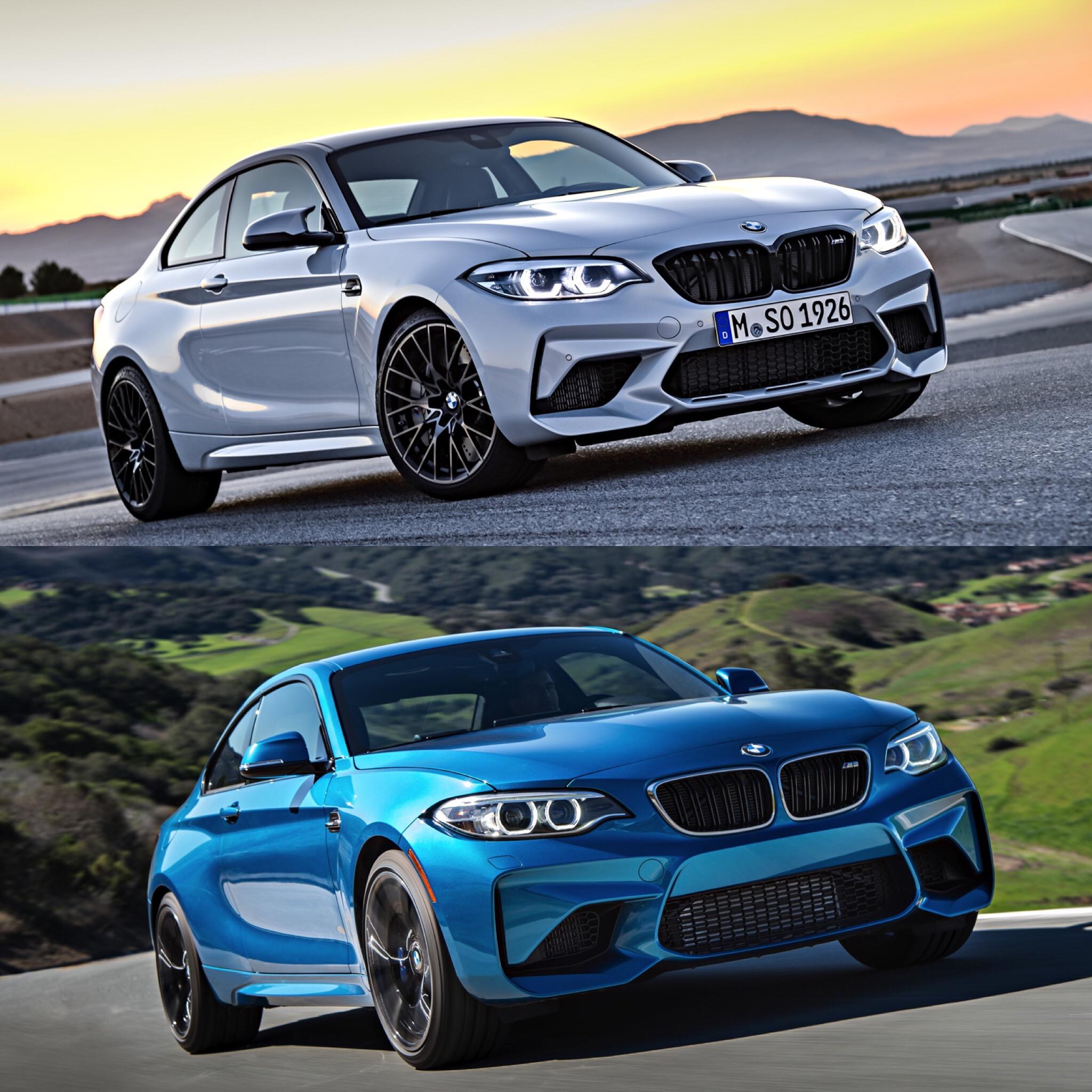 2020 Bmw M2 Vs: Photo Comparison: BMW M2 Competition Vs BMW M2