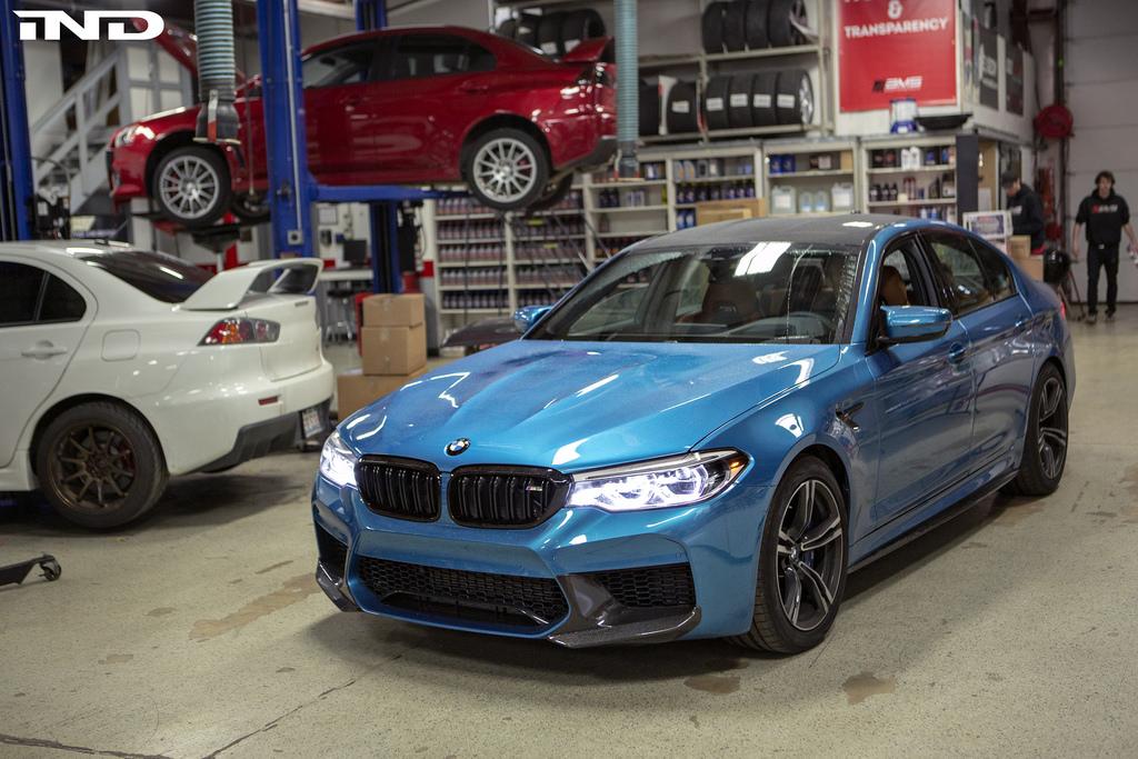 Snapper Rock Blue Metallic BMW F90 M5 By IND Distribution 1