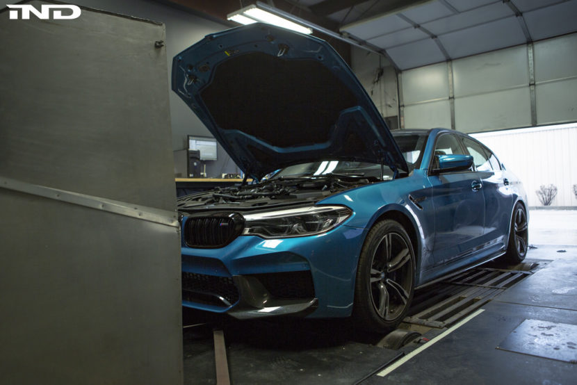Snapper Rock Blue Metallic BMW F90 M5 By IND Distribution 13 830x554