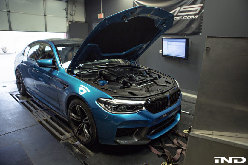 Snapper Rock Blue Metallic BMW F90 M5 By IND Distribution 14 830x553