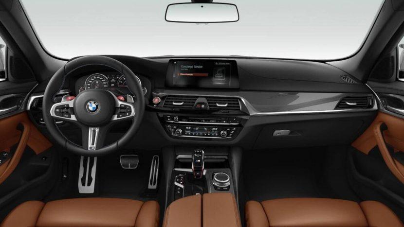 2018 BMW M5 Competition F90 Cockpit Leak 04 830x467