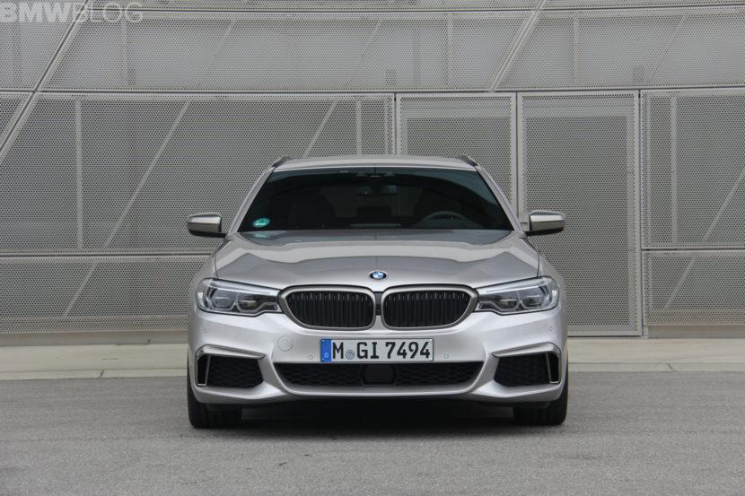 2018 BMW M550d test drive 14 830x553