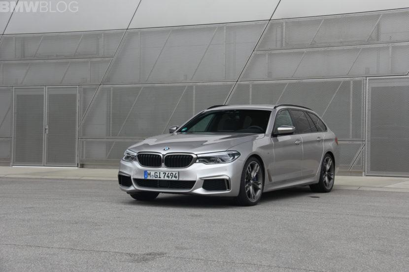 2018 BMW M550d test drive 15 830x553