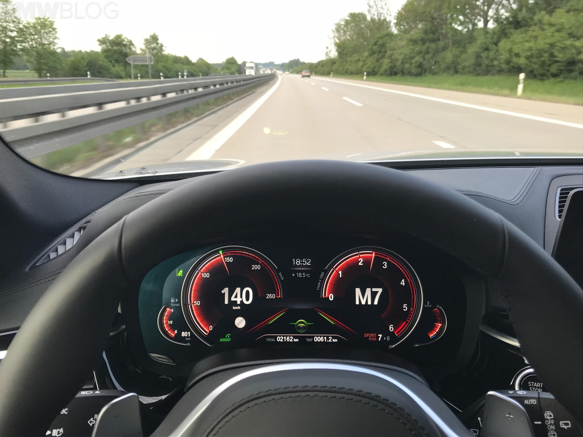 2018 BMW M550d test drive 5