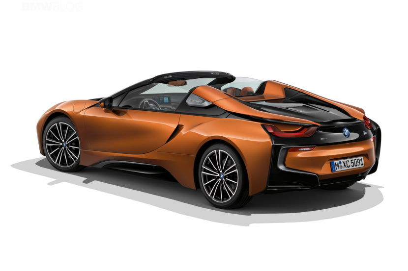 Aerodynamics package for the BMW i8 Roadster 01 830x553