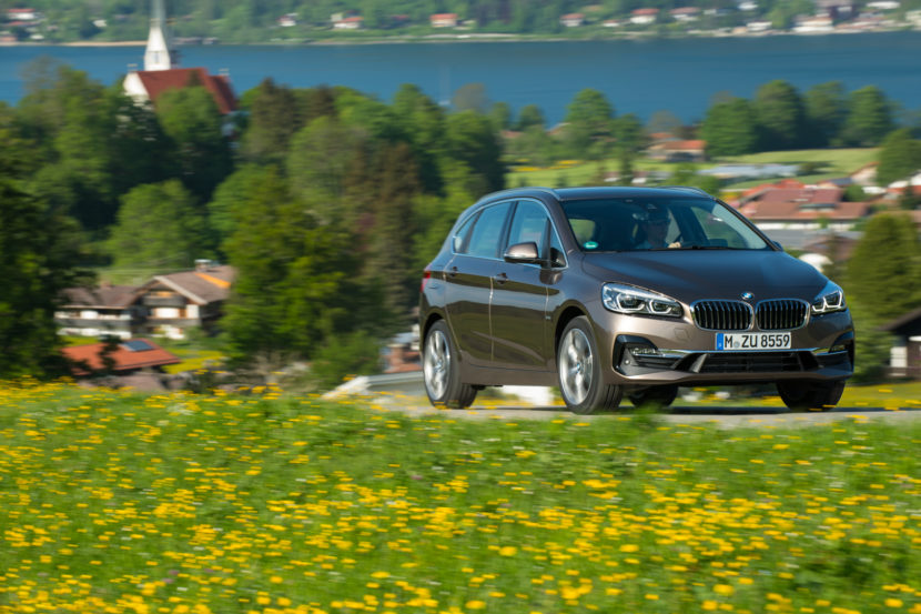 BMW 2 Series Active Tourer LCI Facelift 45 830x553