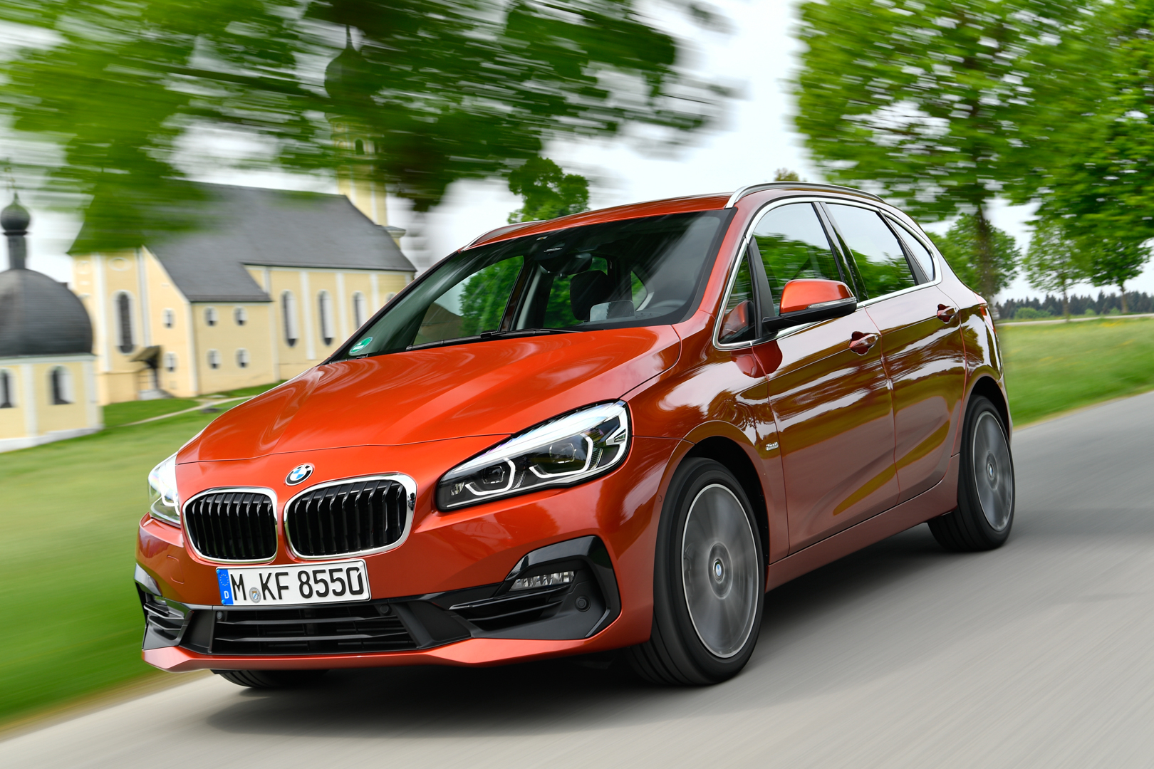 First Drive Bmw 2 Series Active Tourer Lci Facelift