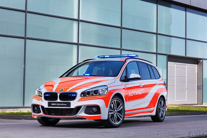 BMW 2 Series Gran Tourer Ambulance P90304769 highRes 830x553