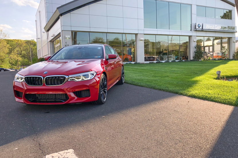 BMW F90 M5 Imola Red 03 830x553