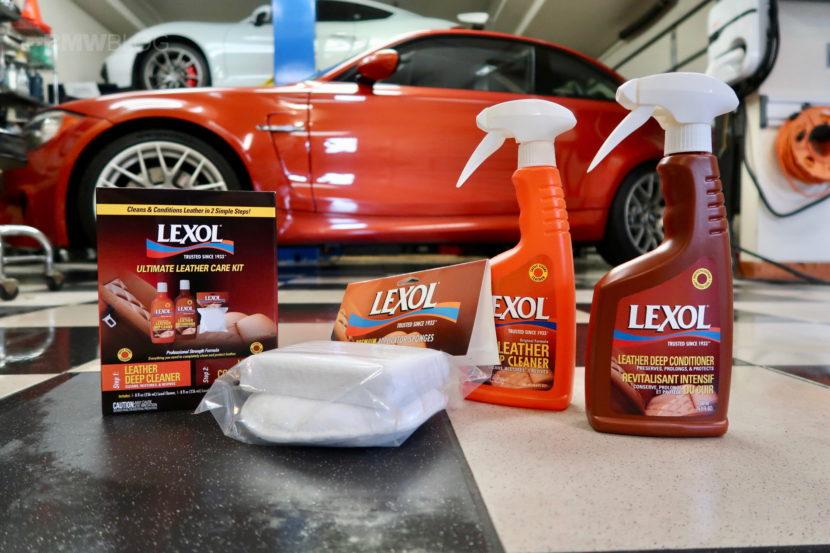 BMW LEXOL cleaning detailing 02 830x553