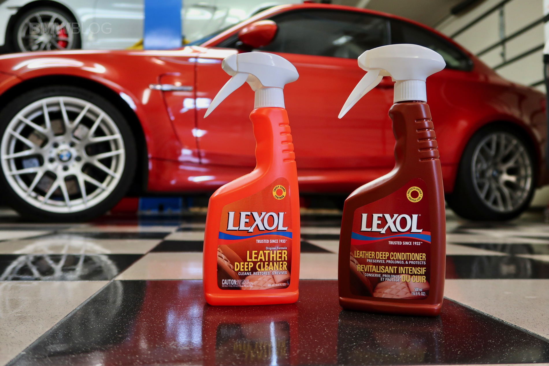 BMW LEXOL cleaning detailing 04